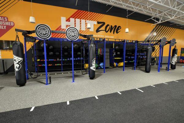 heavy bag in Crunch Fitness Gym Health club in Mount Pleasant, SC