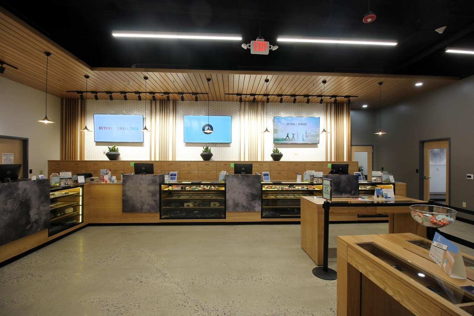 BEYOND HELLO medical marijuana dispensary in Philadelphia, PA counters