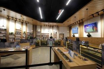 BEYOND HELLO medical marijuana dispensary in Philadelphia, PA store room