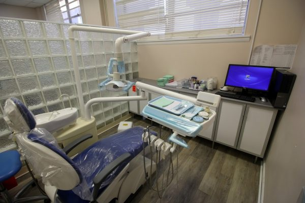 Signature Smiles Dental Office in Bristol, PA dentist chair