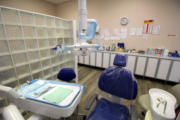 Signature Smiles Dental Office in Bristol, PA exam room dentist chair