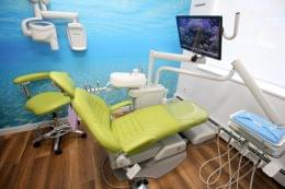 Vida Dental Spa in Whitestone, NY dentist chair exam room
