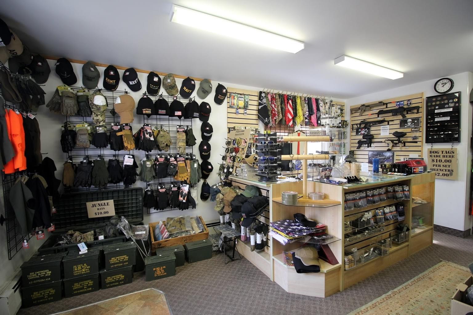 Grandpops Army Navy supply store in Swedesboro, NJ
