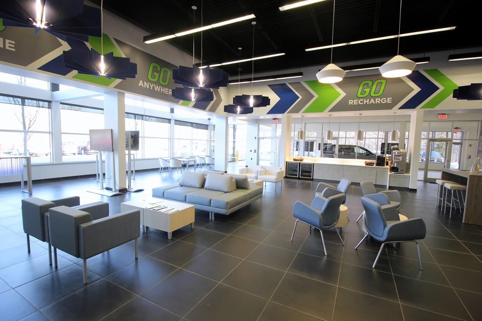 Holman GO Car dealership in Princeton, NJ showroom