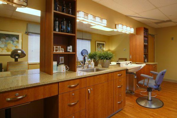 Mission Healthcare at Bellevue, WA rehabilitation center salon