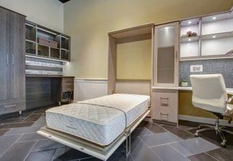 California Closets Interior designer in Boise, ID murphy bed