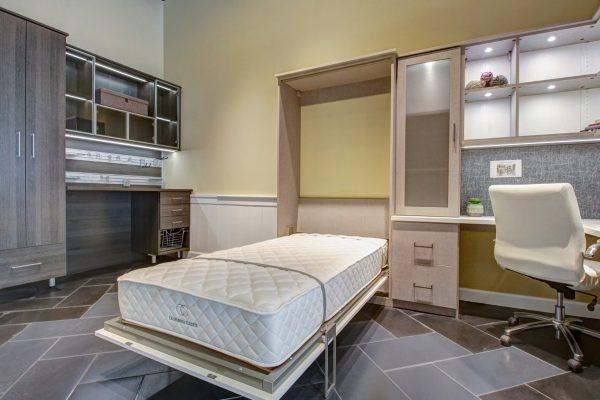 California Closets Interior designer in Boise, ID murphy bed