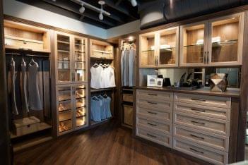 California Closets Interior designer in Corona del Mar, CA closet space and shelf organization