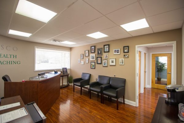 Console and Associates P.C. Personal injury attorney in Cherry Hill, NJ reception front desk