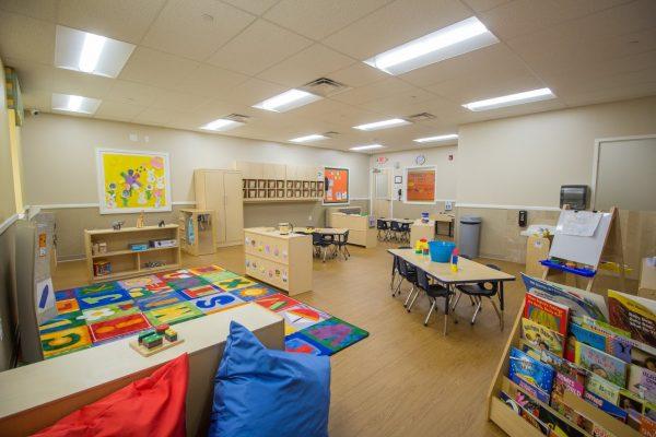 Lightbridge Academy pre-school classroom in Delran