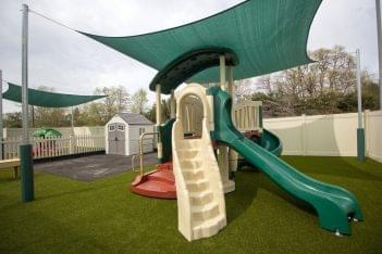 Lightbridge Academy pre-school playground set in Delran