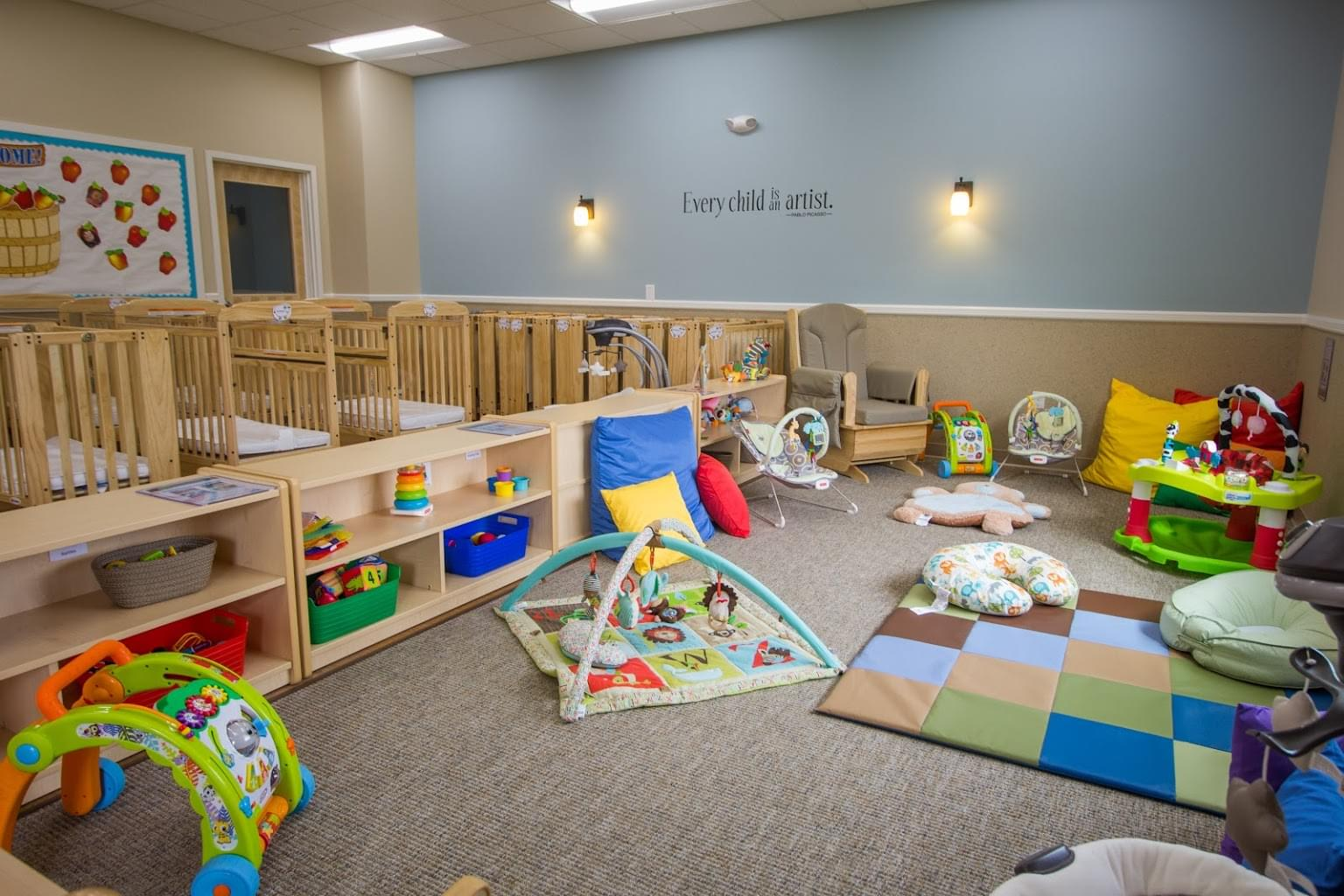 Lightbridge Academy pre-school in Allentown, PA infant room