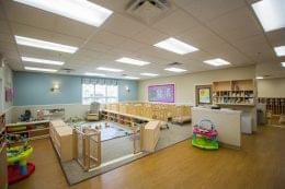 Lightbridge Academy pre-school in Bethlehem, PA infant room
