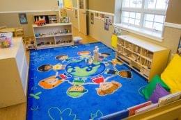 Lightbridge Academy pre-school in Cherry Hill, NJ classroom rug