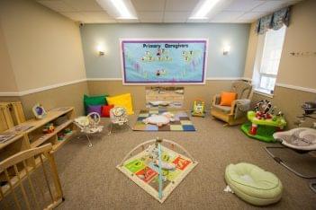 Lightbridge Academy pre-school in Cherry Hill, NJ infant care room