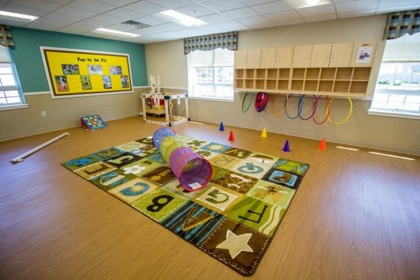 Lightbridge Academy pre-school in Cherry Hill, NJ multipurpose room