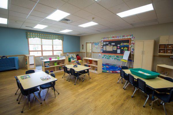 Lightbridge Academy pre-school in Easton, PA classroom