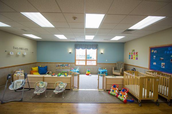 Lightbridge Academy pre-school in Easton, PA infant room