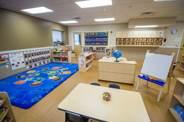 Lightbridge Academy pre-school in Hoboken, NJ classroom