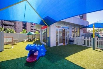 Lightbridge Academy pre-school in Hoboken, NJ playground