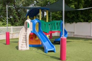 Lightbridge Academy pre-school in Fair Lawn, NJ playground playset