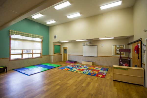 Lightbridge Academy pre-school on route 130 North Brunswick, NJ multipurpose room