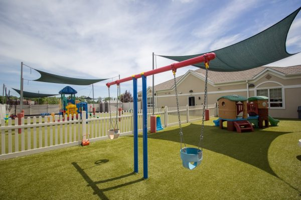 Lightbridge Academy pre-school on route 130 North Brunswick, NJ playground