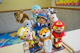 Lightbridge Academy pre-school on route 130 North Brunswick, NJ puppets