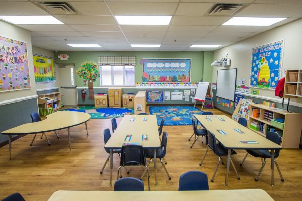 Lightbridge Academy pre-school on route 27 North Brunswick, NJ classroom