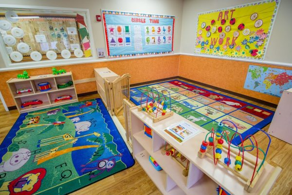 Lightbridge Academy pre-school on route 27 North Brunswick, NJ play area