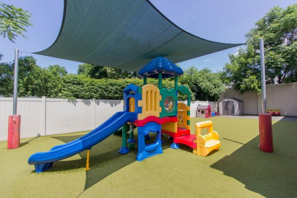Lightbridge Academy pre-school and daycare and playground in Westwood, NJ
