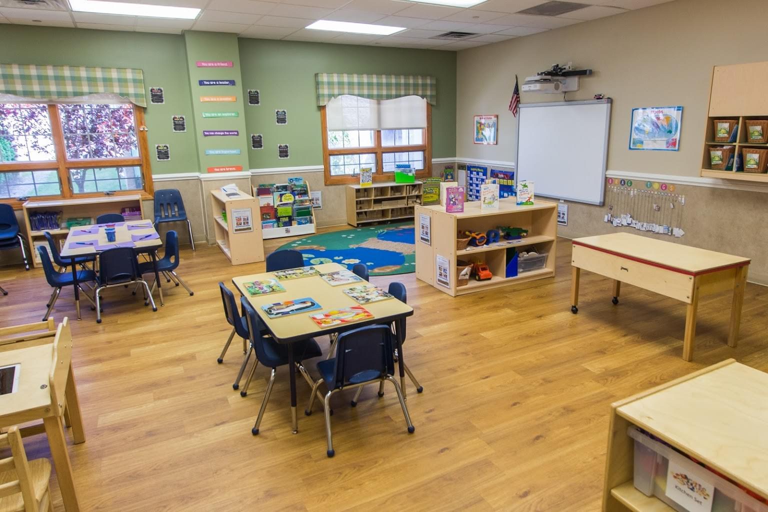 Lightbridge Academy pre-school and daycare classroom in Westwood, NJ