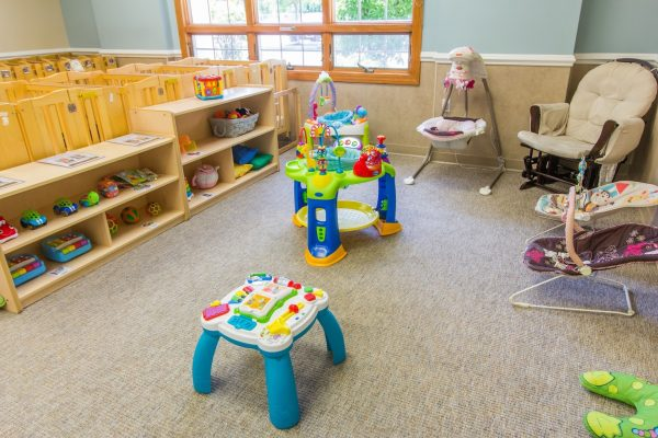 Lightbridge Academy pre-school and daycare infant room in Westwood, NJ