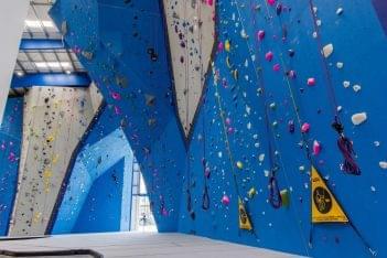 Reach Climbing + Fitness rock-climbing gym in Bridgeport, PA