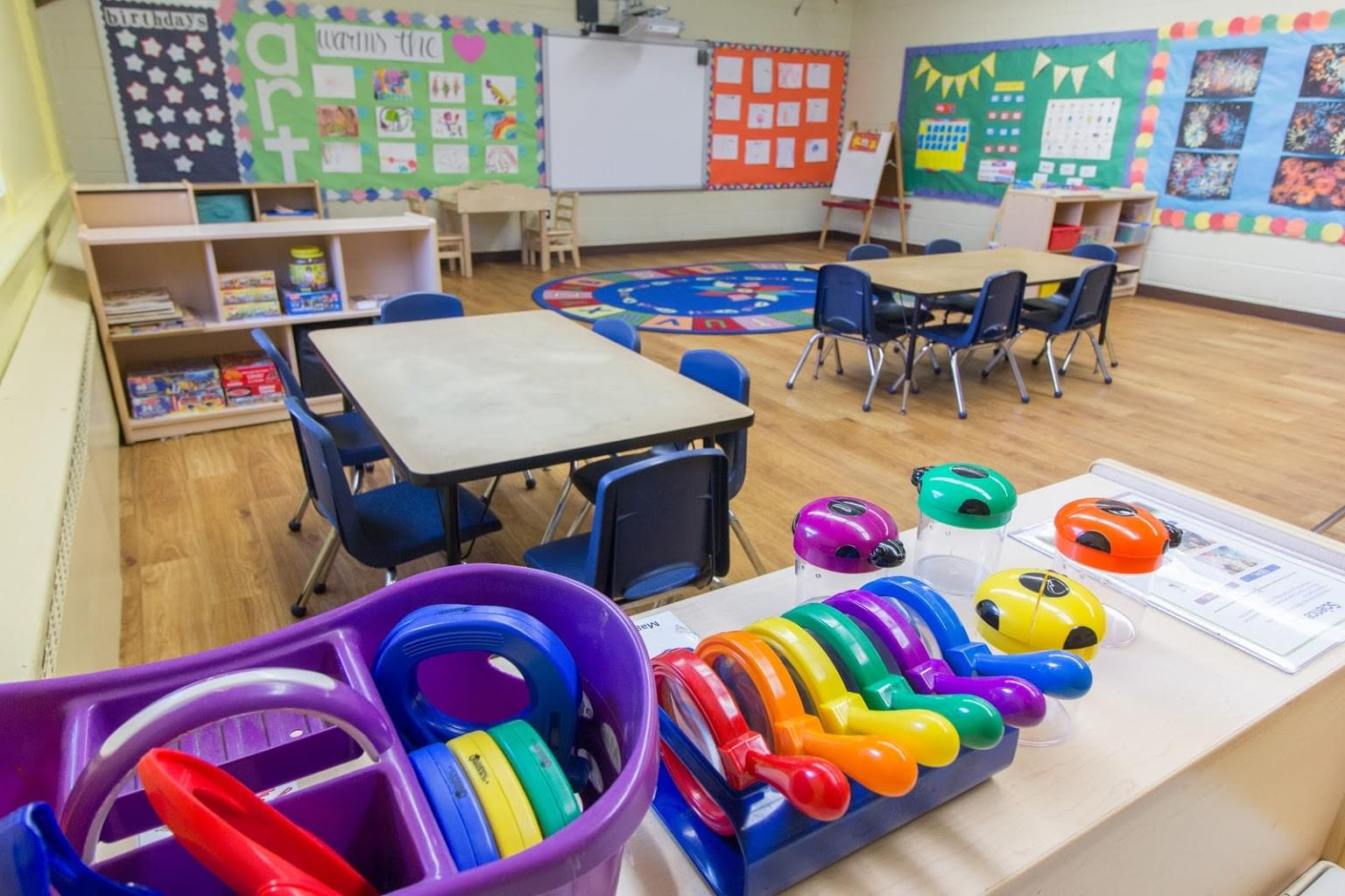 classroom at Lightbridge Academy pre-school and daycare in Mahwah, NJ