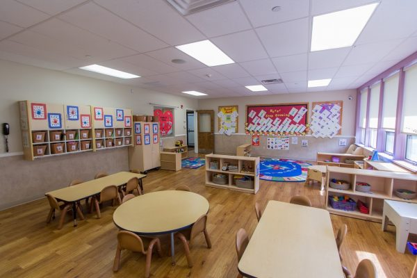 classroom at Lightbridge Academy pre-school and daycare in Whippany, NJ