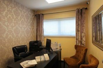 consultation office Prolase Medispa medical spa in Arlington, VA