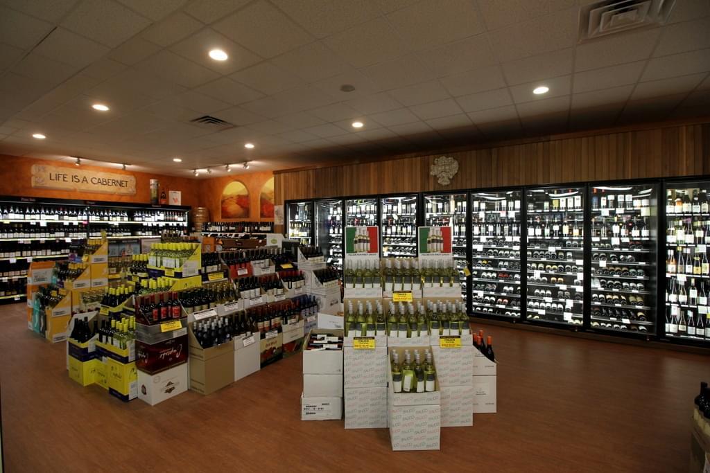 Traino's Wine & Spirits Liquor Store in Evesham Township, NJ