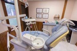 exam room in Dental Arts Group dentistry in Voorhees, NJ
