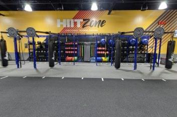 hit zone training grounds at Crunch Fitness Gym and Health Club in Summerville, SC