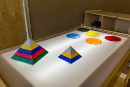 light top table at Lightbridge Academy pre-school and daycare in Fort Lee, NJ