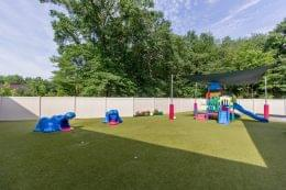 playground at Lightbridge Academy pre-school and daycare in Whippany, NJ