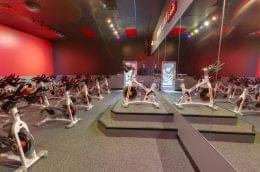 spinning room at Crunch Fitness Gym and Health Club in Summerville, SC