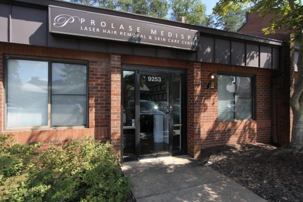 store front at Prolase Medispa medical spa in Burke, VA
