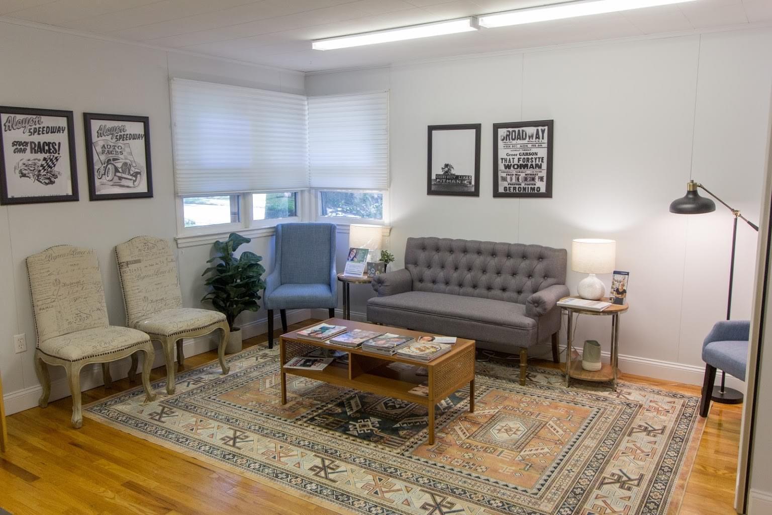 waiting room in Dental Arts Group Dentist in Pitman, NJ