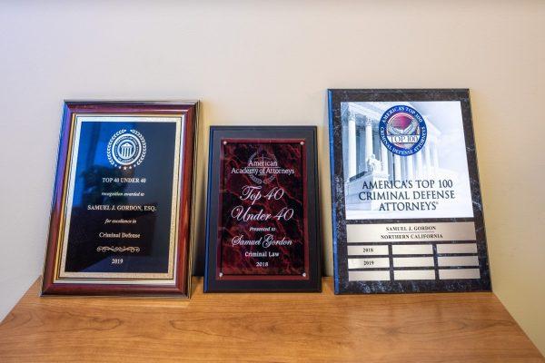 awards for The San Jose DUI Experts, Criminal justice attorneys in San Jose, CA