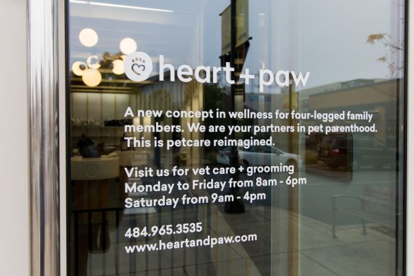 business statement of Heart + Paw Dog care and Veterinary in King of Prussia, PA