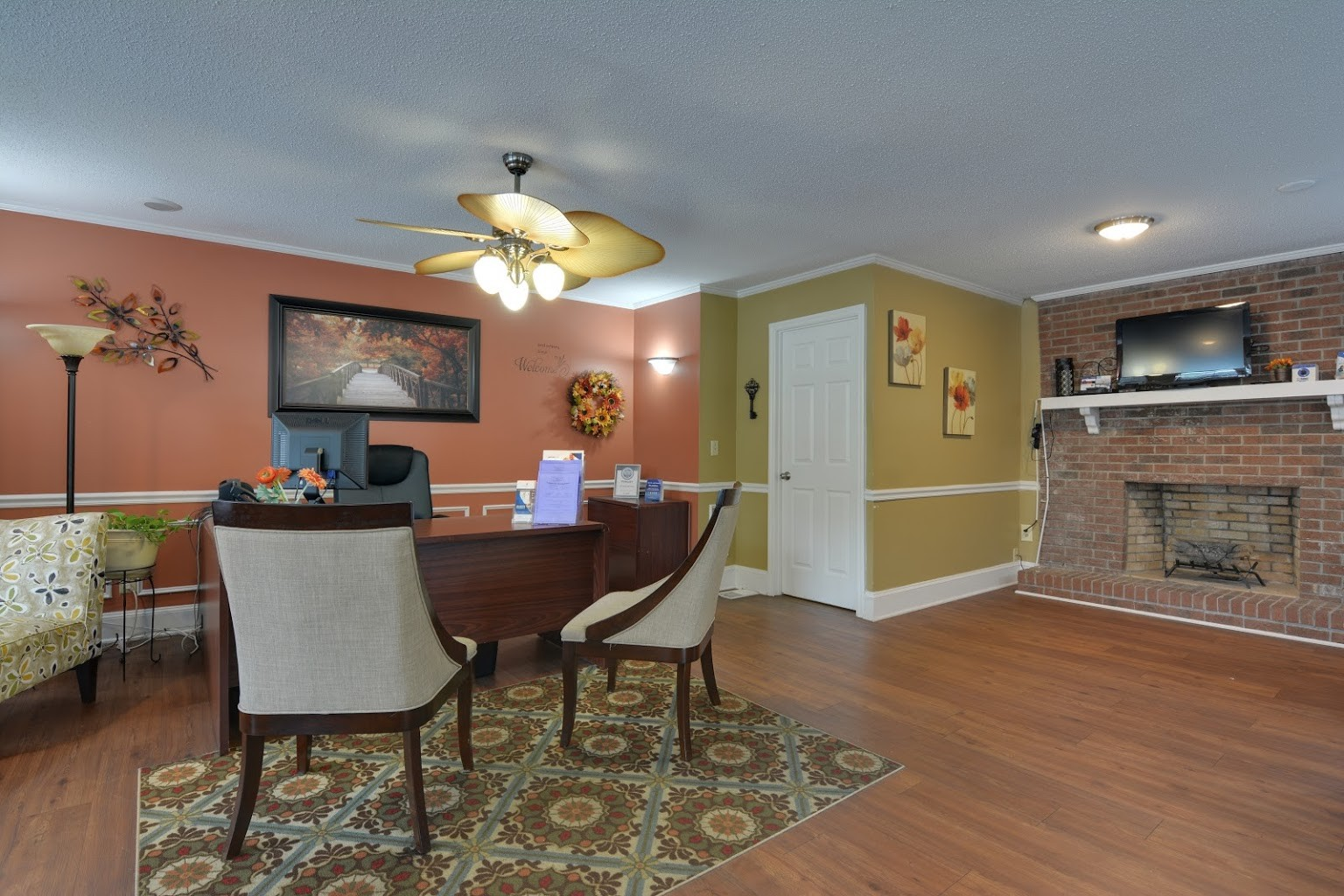 club house at Cross Creek Cove Apartments in Fayetteville, NC