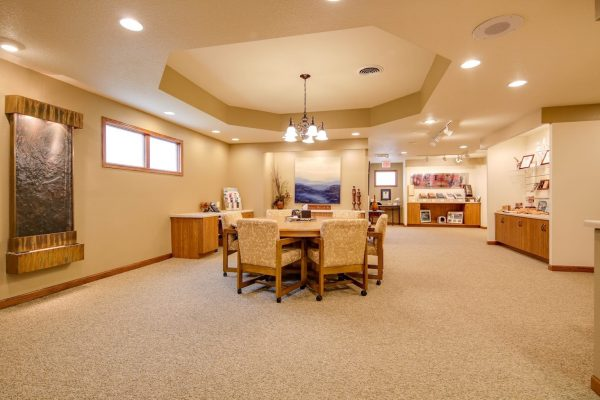 conference room at Wenig Funeral Homes in Sheboygan Falls, WI