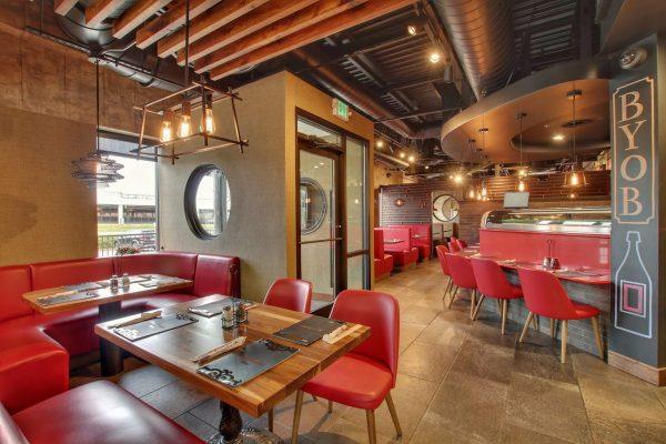 dining seats at Asian Garden restaurant in Cockeysville, MD